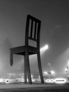 Голландский стул с подпиленными ножками