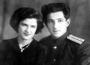 Валентина КУРБАТОВА с мужем Всеволодом